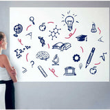 Whiteboard Self Adhesive Dry Erase Roll - Self Stick Dry Erase Roll