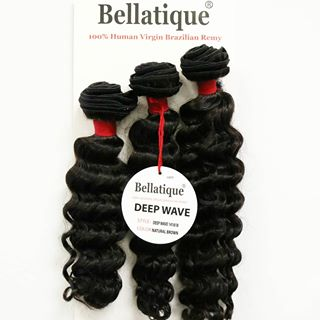 Bellatique Virgin Remi Hair (Deep wave)