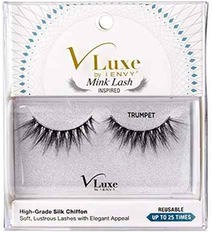 V LUXE STRIP LASHES TRUMPET
