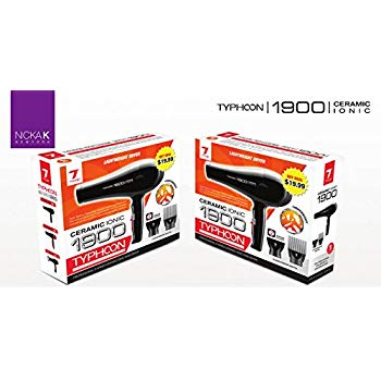Tyche 1900 Ceramic Ionic Professional Hair Dryer