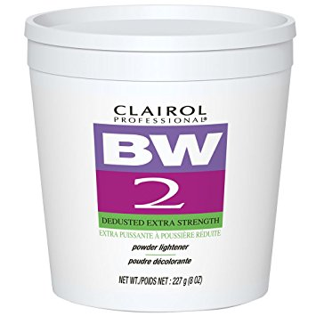 CLAIROL PROFESSIONAL BW 2 DEDUSTED EXTRA STRENGTH POWDER LIGHTENER 8OZ