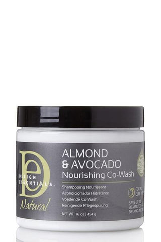 DESIGN ESSENTIALS ALMOND & AVOCADO NOURISHING CO-WASH
