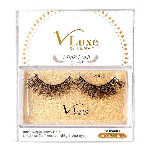 V LUXE STRIP LASHES PEARL