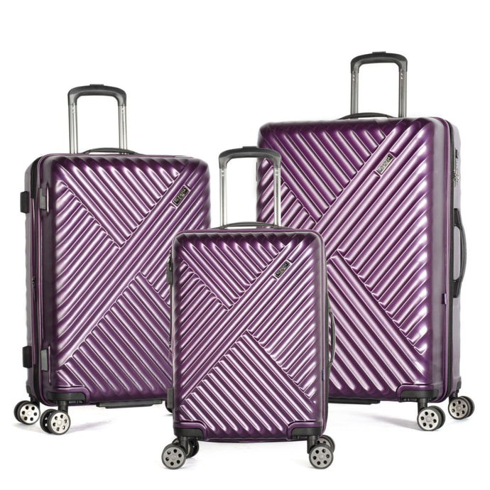 Matrix 3-Piece Expandable Hardcase Spinner Set - Purple