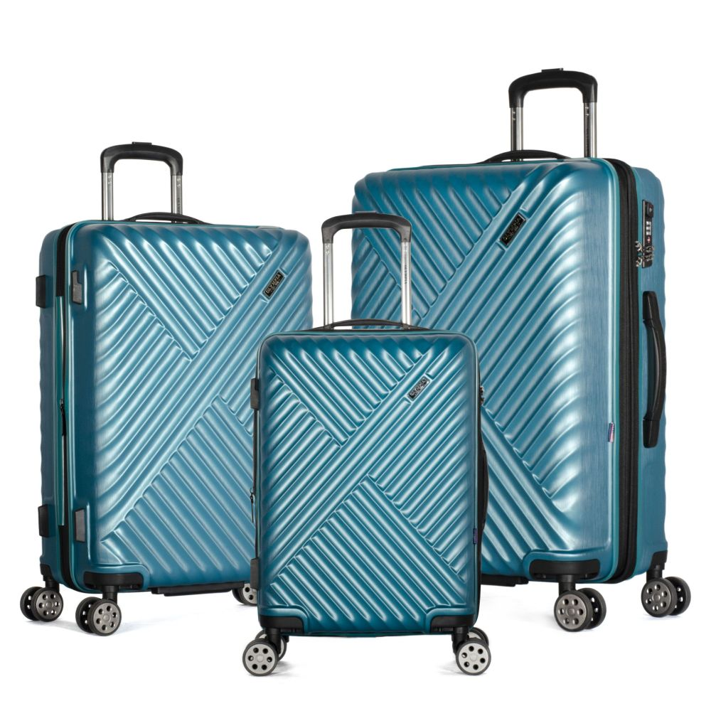 Matrix 3-Piece Expandable Hardcase Spinner Set -Teal