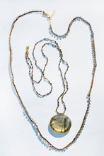 Bardot necklace in Labradorite