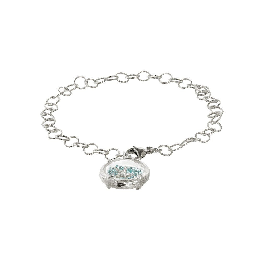 SHAKER BRACELET WITH STARFISH - Funraise