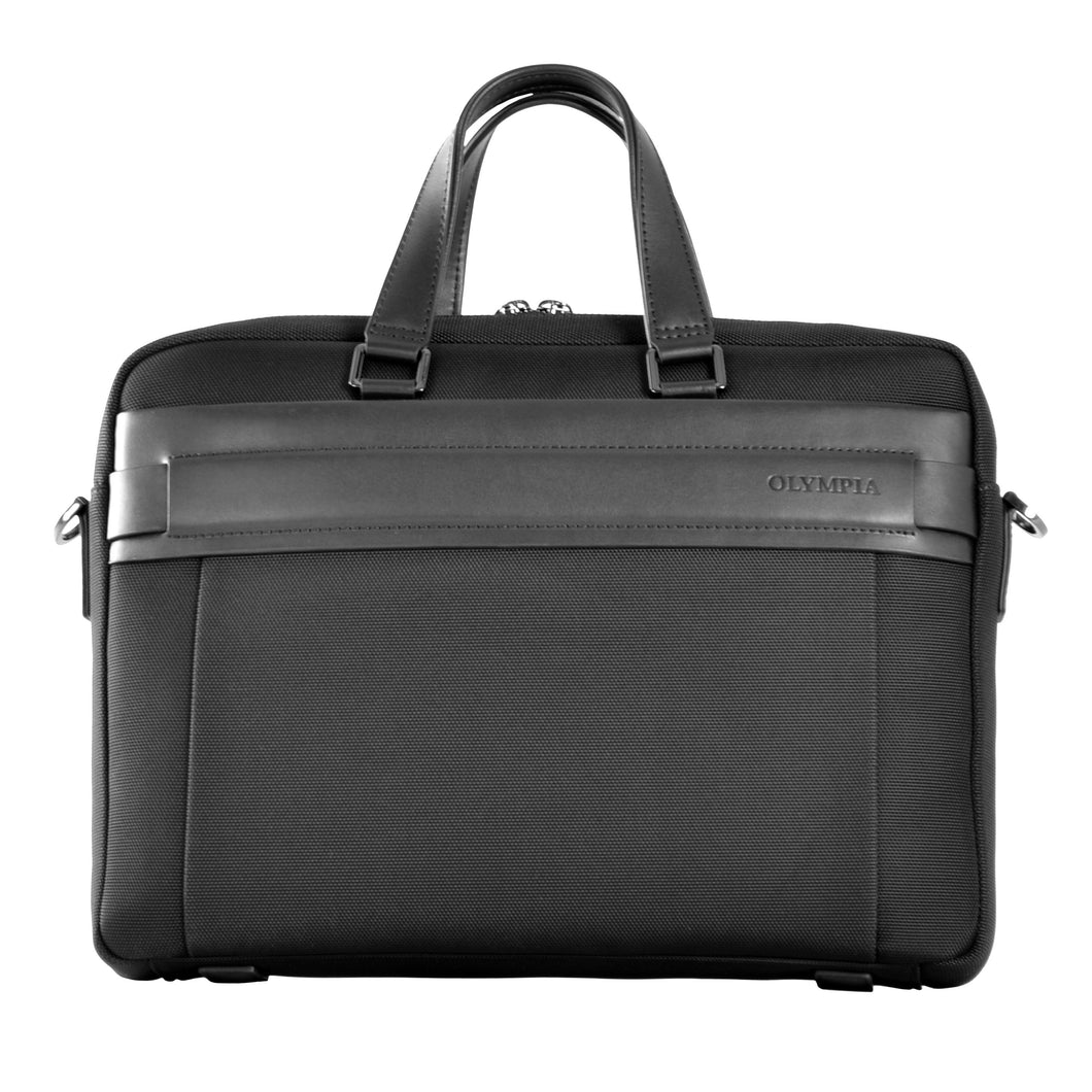 Business case - Ballistic Nylon with leather - Funraise