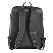 John - Ballistic Nylon/Leather Trim Backpack - Funraise