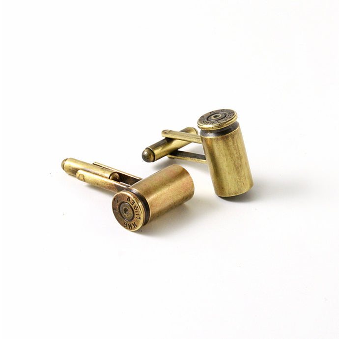 9mm Bullet Cuff Links - Funraise
