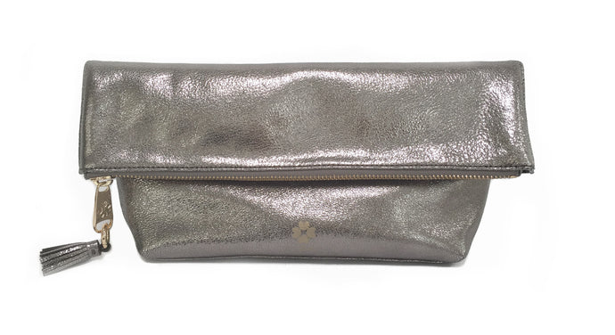 Audrey Foldover Clutch - Various colors - Funraise