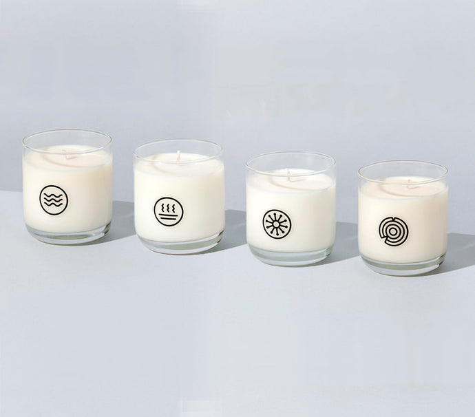 The Collection - set of 4 candles in four signature fragrances - Funraise