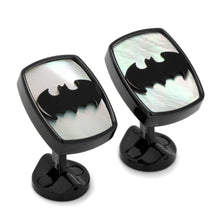 Stainless Steel Mother of Pearl Batman Cufflinks - Funraise