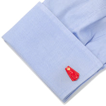3D Superman Cape Cufflinks - Funraise