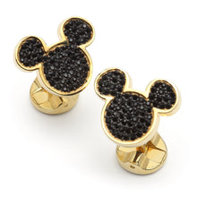 Mickey's 90th Anniversary Vermeil Crystal Cufflinks