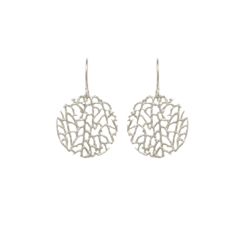 MINI CORAL DISC EARRINGS - Funraise