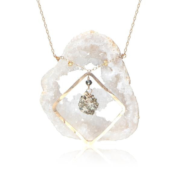Geode Fancy Equality Mid-Necklace - Funraise