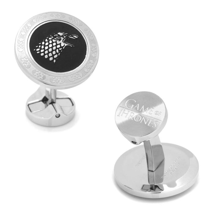 Stark Filigree Stainless Steel Cufflinks (Game of Thrones)