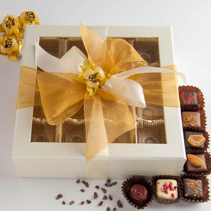 Chocolates - Grand Window Box - Pearl White - Funraise