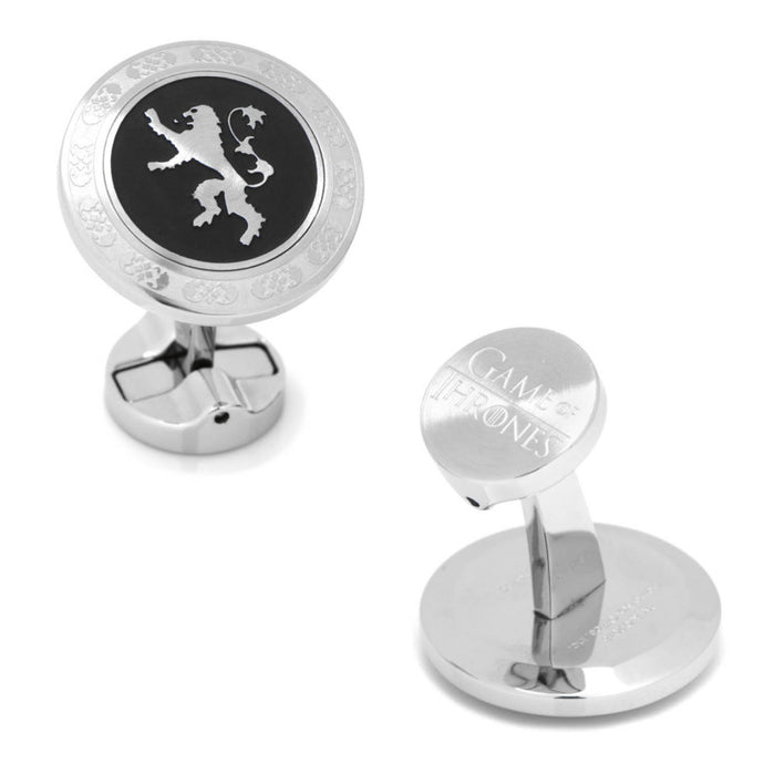 Lannister Filigree Stainless Steel Cufflinks (Game of Thrones)