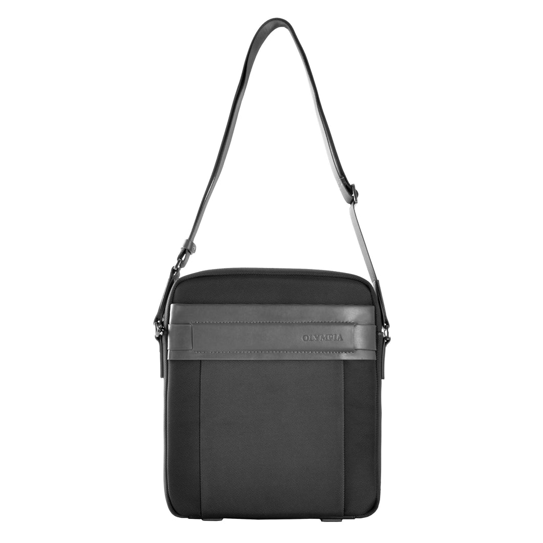 Messenger Bag- Ballistic Nylon with leather - Funraise
