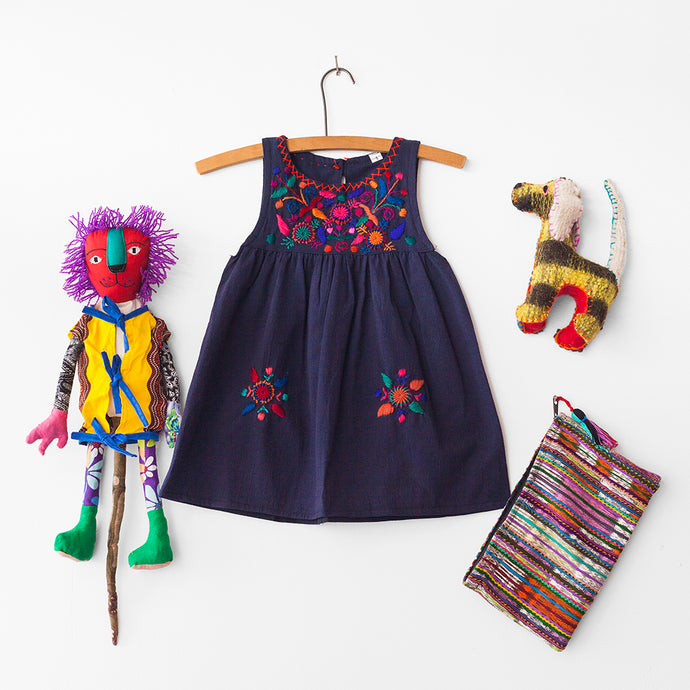 GLOBAL Children's Package – Navy Dress