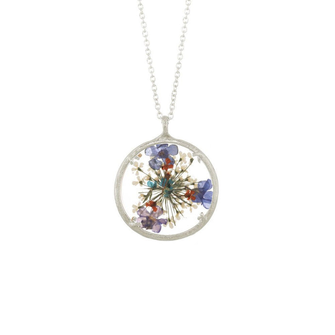 LARGE FLOWER MANDALA NECKLACE - Funraise