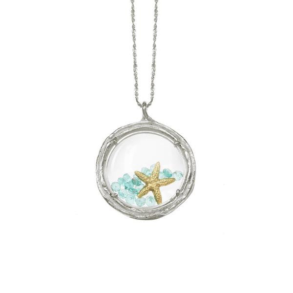 LARGE GLASS BRANCH LOCKET - Funraise