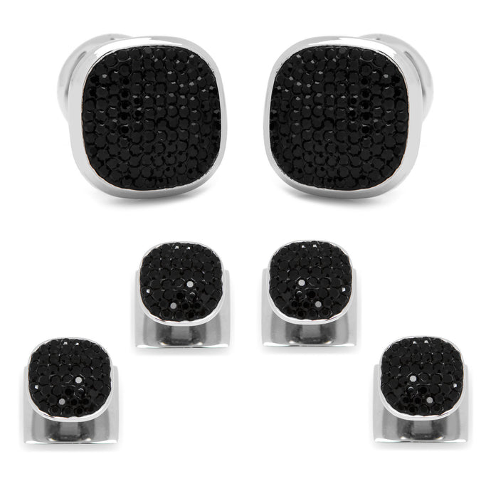 Black Pave Crystal Stud Set - Funraise