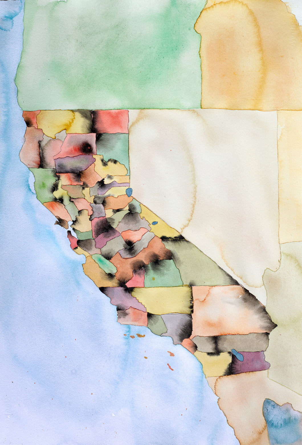 Map of California by County - Funraise