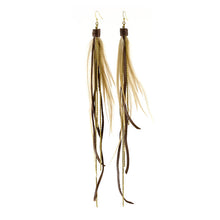 Pirate Feather Earrings - Various Colors - Funraise