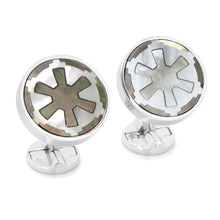 Sterling Imperial Mother Of Pearl Cufflinks