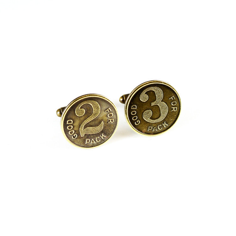 Vintage Cigarette Token Cuff Links - Funraise