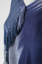 Organic Bamboo Poncho - Navy - Funraise