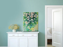 "Flower Wall Canvas Prints ""Noon Greenery"" Canvas Wall Art"