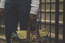 Green Signature Messenger Bag - Funraise