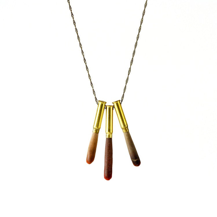 Sea Urchin Necklace with 3 Spikes - Funraise