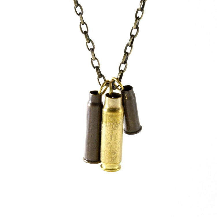 3 Bullets on Chain Necklace - Funraise