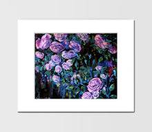 "Floral Art Canvas Prints ""Summer Night"" Canvas Wall Art"