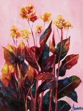 "Tropical flower wall art, ""Pink Paradise"", giclee print"
