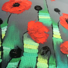 "Abstract Art Canvas Prints ""Poppies"" Canvas Wall Art"