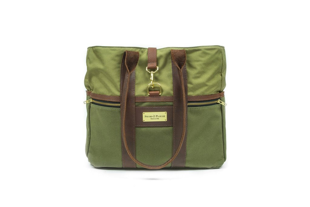 Green Signature Tote Bag - Funraise