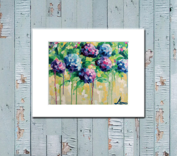 "Floral Canvas Prints ""Spring Vibes"" Canvas Wall Art"