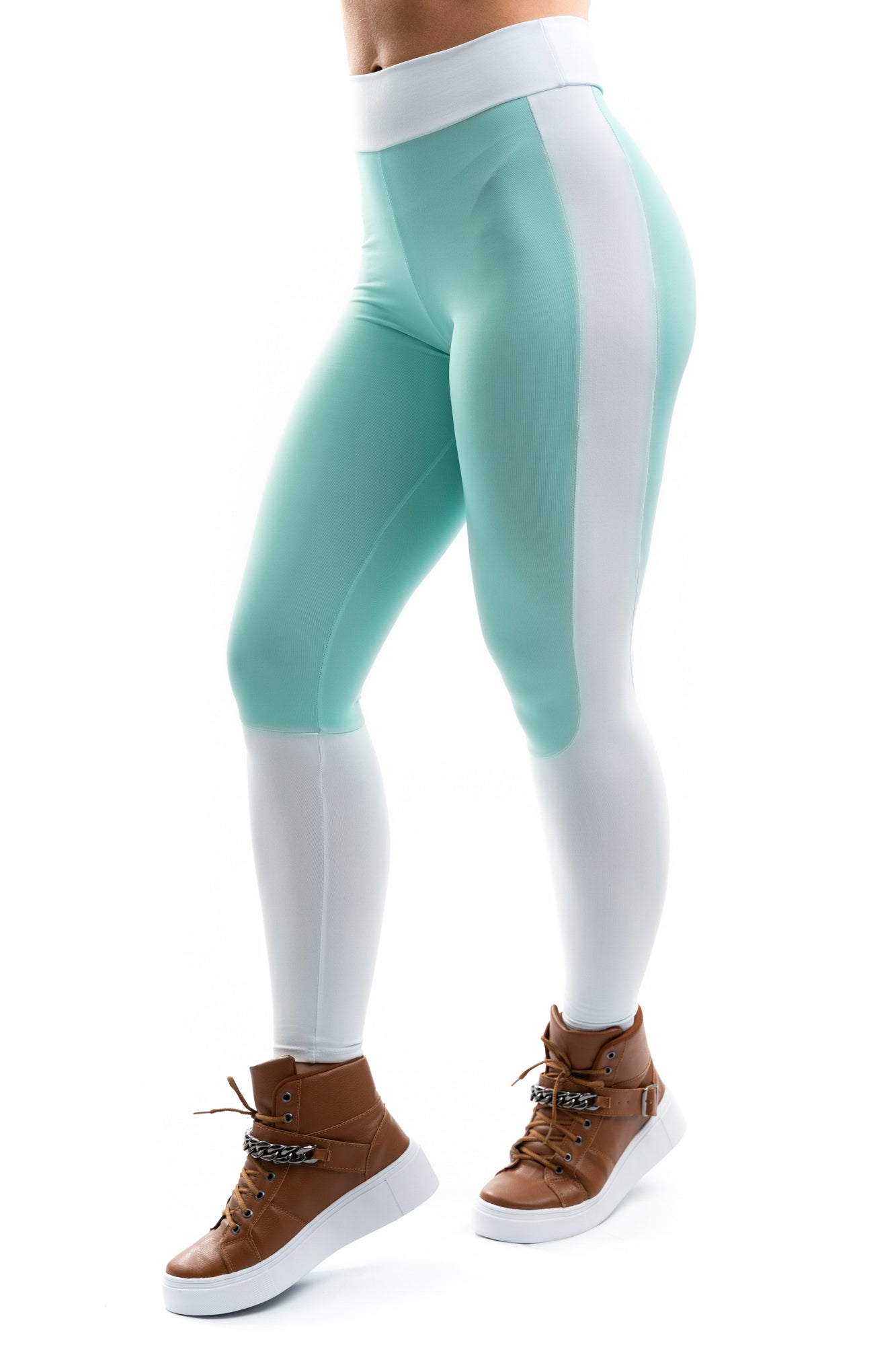 LEGGINGS ELEGANCE SOFT LIGHT GREE