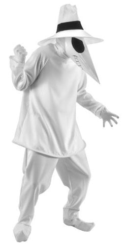 Spy Vs. Spy Adult Costume Size: Small / Medium, Color: White