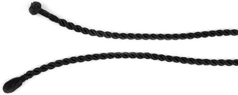 "Black 3mm Twisted Pendant Enhancer Cord, 16"", 18"" (16 Inches)"