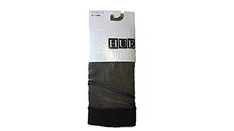 Hue Women's Fishnet Knee Hi, Black, One Size