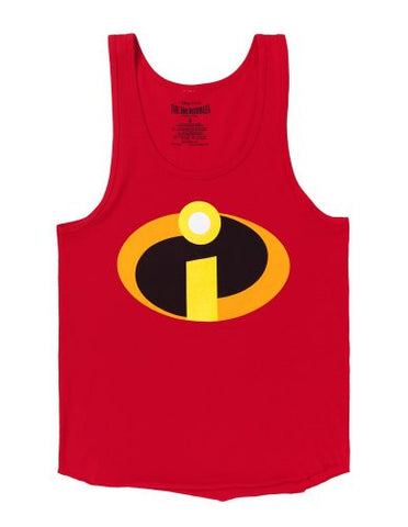 The Incredibles Logo Costume Adult Tank Top (Large)