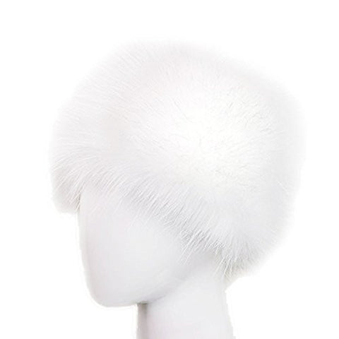 Dopeme Faux Fur Cossak Russian Style Hat for Ladies Winter Hat for Women