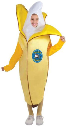 Forum Novelties Fruits and Veggies Collection Appealing Banana Child Costume, Medium